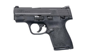 S&W LE Shield M2.0, Striker Fired, Compact Frame, 9mm, 3.1″ Barrel, Polymer Frame, Black Finish, 2 Magazines(1-7Rd & 1-8Rd), Thumb Safety, 3 Dot Sights