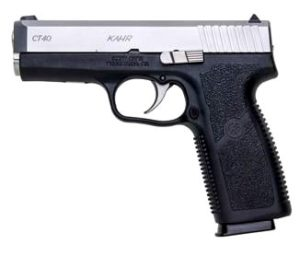 New Kahr Arms CT40, .40 S&W, 4″ Barrel, 7 Rounds, Polymer Frame, Stainless Steel Slide: $279