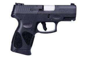 New Taurus G2C, 9mm, 3.2″ Barrel, 12 Rounds, 2 Magazines, 3 Dot Adjustable Sights, External Safety, Black Slide/Black Frame: $249