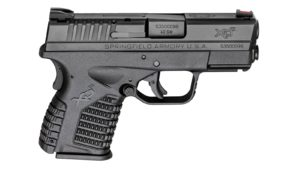 New Springfield Armory XDS, .40 S&W, 3.3″ Barrel, 4 Magazines (2-6 & 2-7 Round), Fiber Optic Front Sight, Dovetail Rear Sight, Matte Black Finish: $369