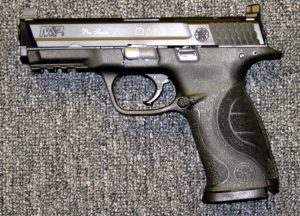 Preowned Smith & Wesson M&P Pro Series, 9mm, 4.3″ Barrel, 17 Rounds, 2 Magazines, C.O.R.E. MOS: $399