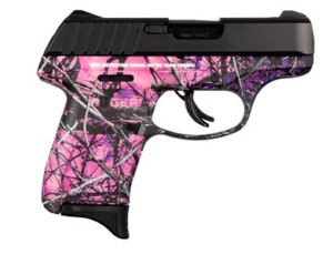 New Ruger EC9S, 9mm, 3.1″ BBL, 7 Rounds, Muddy Girl: $259
